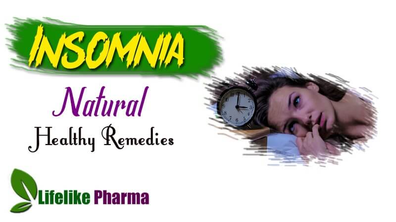20 Natural Insomnia Healthy Remedies