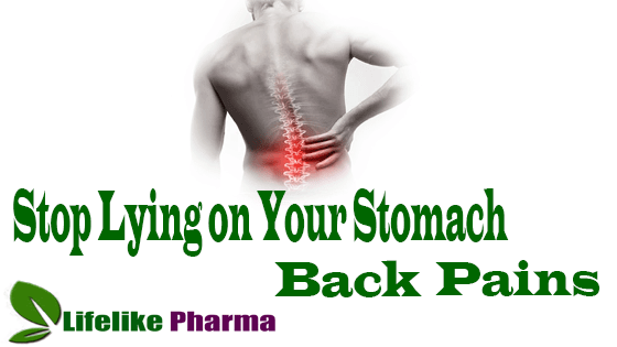 Stop Lying on Your Stomach & Position May Be the Cause of All Your Back and Gut Pains